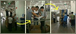 RFID automatic identification technology use in the finished goods warehouse