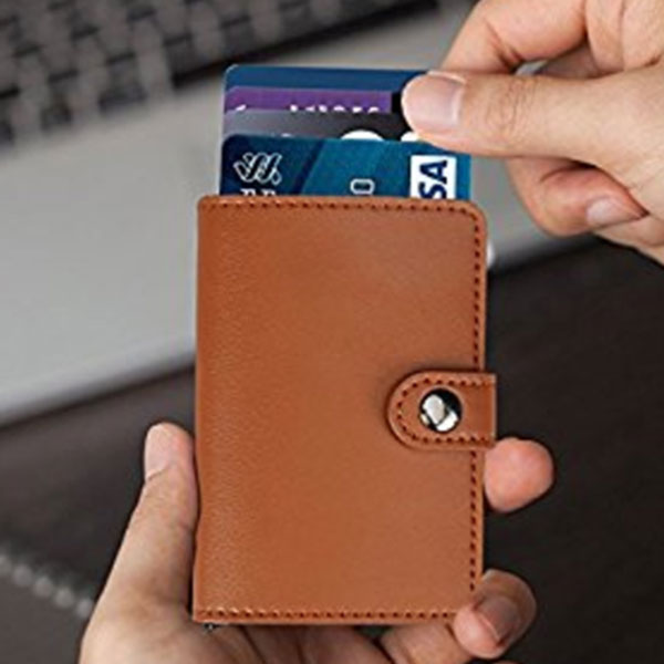RFID Blocking men's Slim wallet