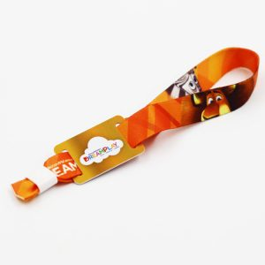RFID cloth wristbands