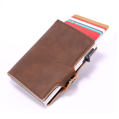 Antitheft Wallet RFID Blocking Card Holder