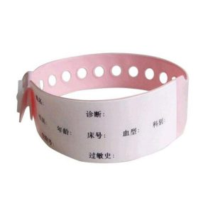 pink disposable rfid wristbands