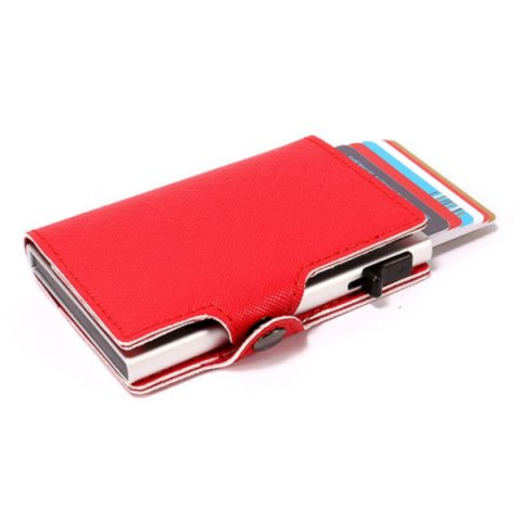 Aluminum Slim Wallet RFID Blocking