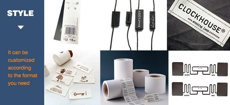 Fabric UHF Reusable Clothing Tag