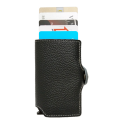 Pop-up Business RFID Blocking Leather Wallet