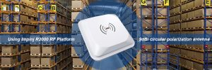 9dbi Antenna UHF RFID Integrated Reader for Inventory Management
