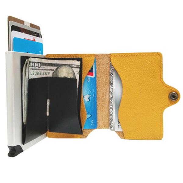 CXJ RFID blocking leather wallet
