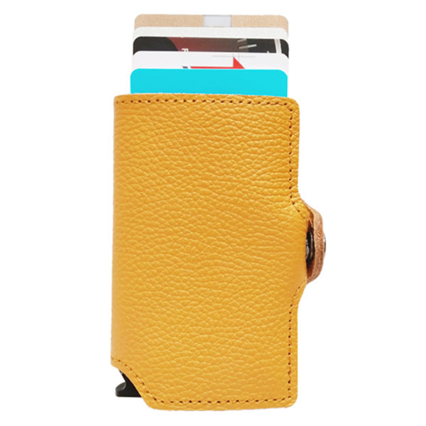 CXJ RFID blocking leather wallet