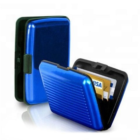Metal RFID Credit Card Wallet Holder
