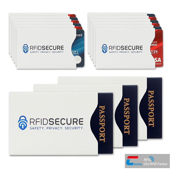 RFID blocking sleeves
