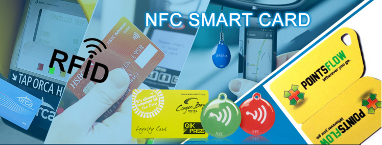 Various types RFID smart card
