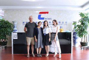 America clients visit Chuangxinjia