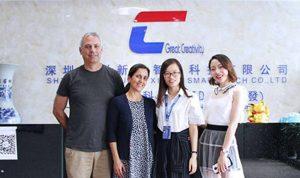 America clients visit Chuangxinjia2