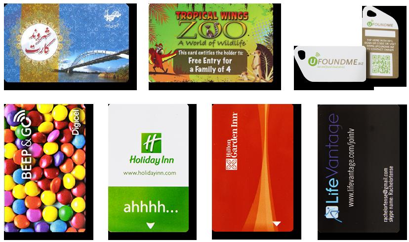 Various RFID NFC smart card