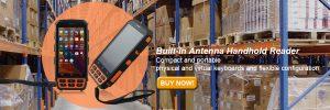 Bluetooth UHF RFID Reader Android Handheld Reader Scanner