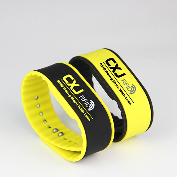 silicone RFID NFC wristband