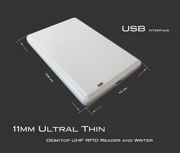 USB interface rfid desktop reader
