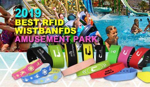 RFID amusement park bracelets