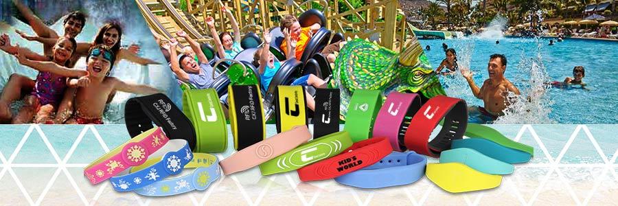 RFID amusement park bracelets brings VIP experience for your