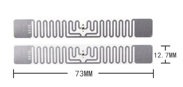 Long range EPC GEN2 UHF rfid asset label