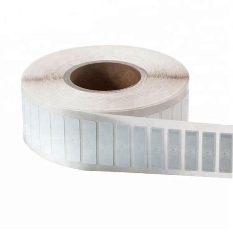 White rolls rfid asset tracking uhf rfid paper label