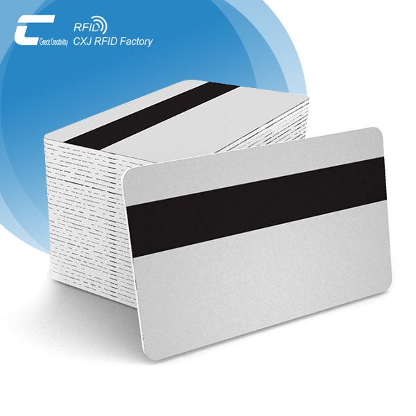 Blank Contactless MIFARE RFID Card with Magnetic Stripe