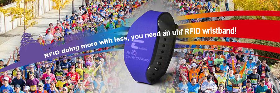 Marathon uhf RFID wristband
