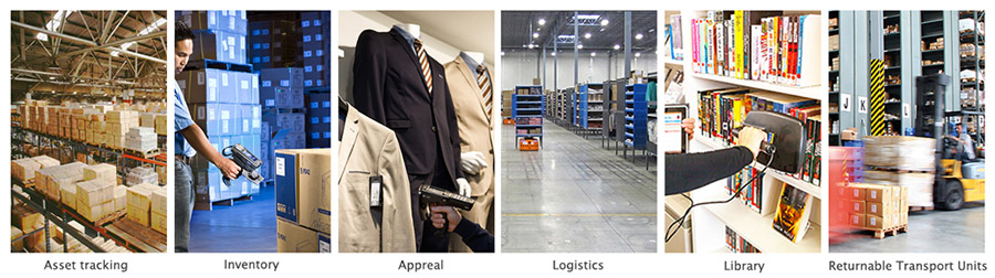 RFID Asset Management application