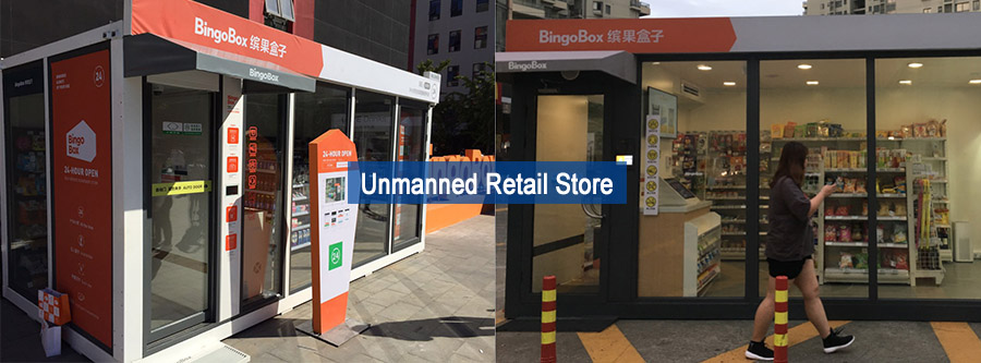 RFID tag for unmanned retail store