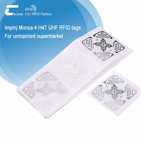Paper UHF RFID sticker