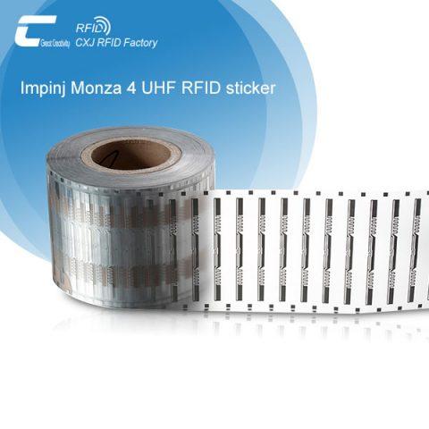 Impinj Monza 4 RFID UHF Tags