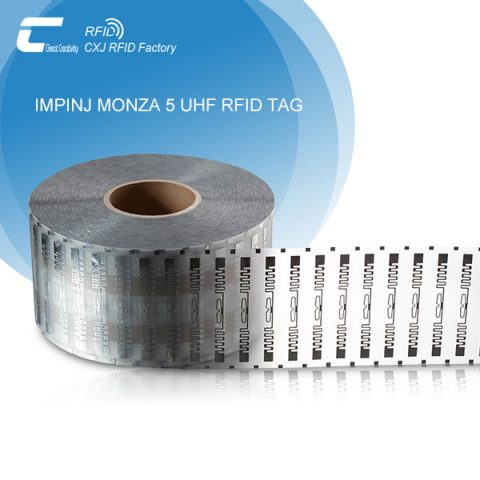 UHF RFID Tag Logistics Label Pack In Roll