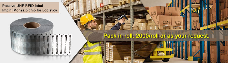 Passive UHF RFID label for Logistics