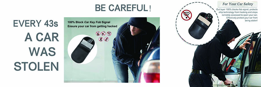 Be careful when you without RFID car key blocker bag