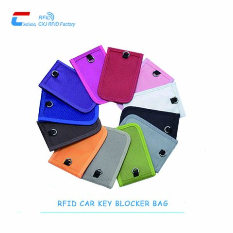 Colorful-RFID-car-key-blocker-bag