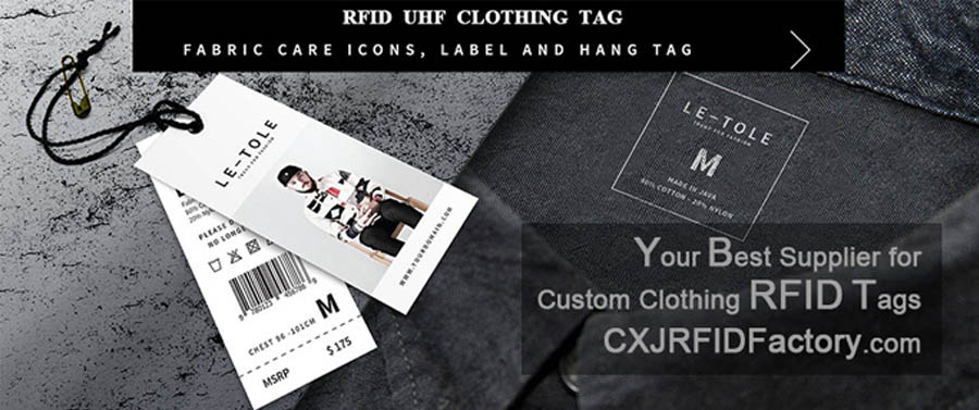 Clothing rfid hang tag - CXJRFIDFactory