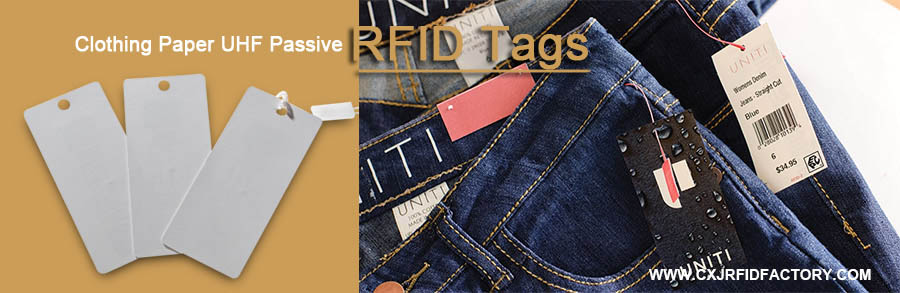 Custom RFID Apparel UHF Hang Tag for garment management