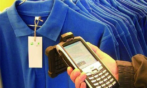 RFID clothing label