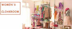 women's-cloakroom
