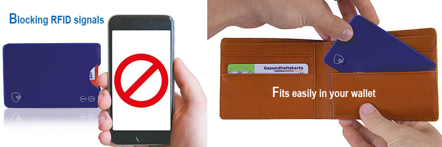 How to use credit card protective sleeves