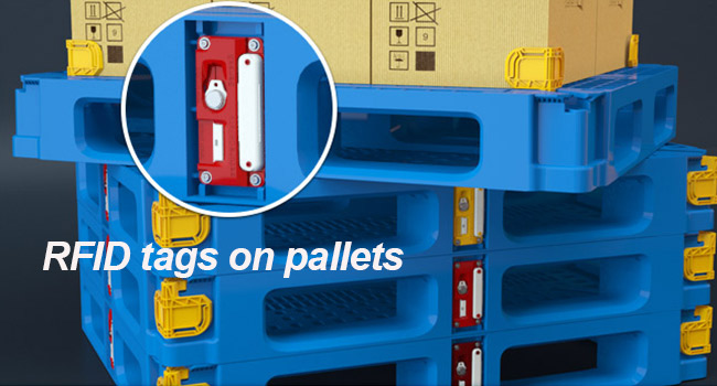 application-of-RFID-tags-on-pallets
