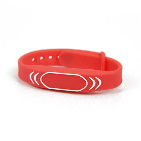 Customized Logo Printing MIFARE Wristband