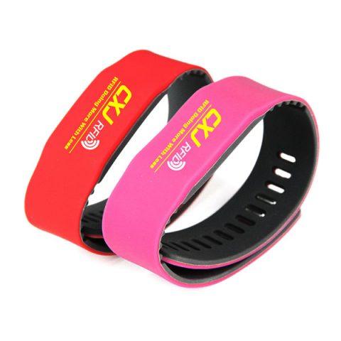 CJ2308A05 RFID Silicone wristband