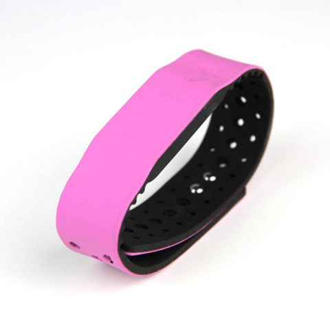CJ2308A07 Carved Holes Silicone RFID Wristband Supplier