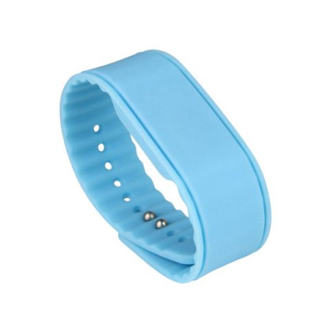 Durable Solid Color Silicone RFID NFC Wristband CJ2308A04