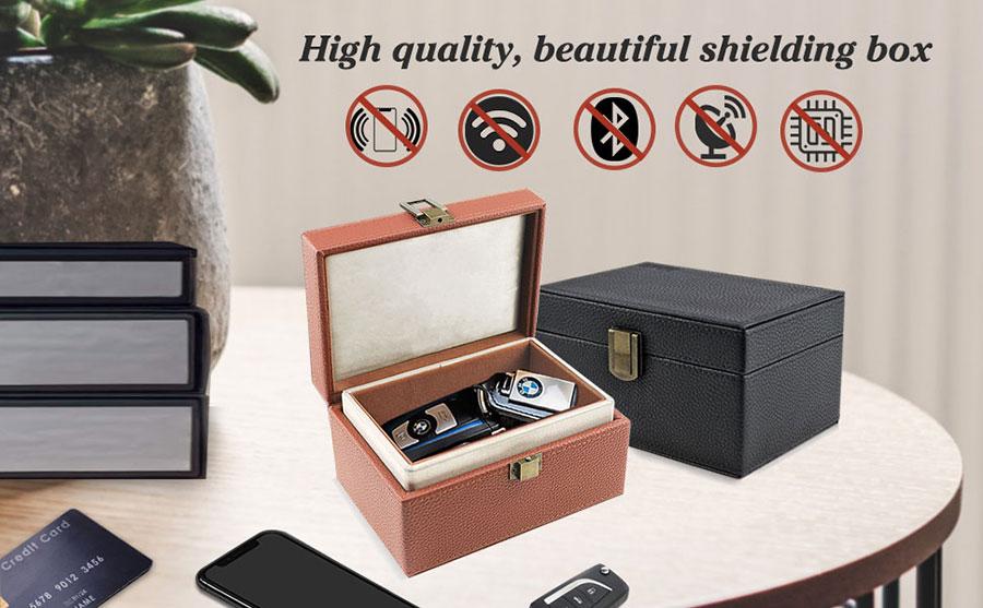 Fashion RFID Shielding Box Blocker
