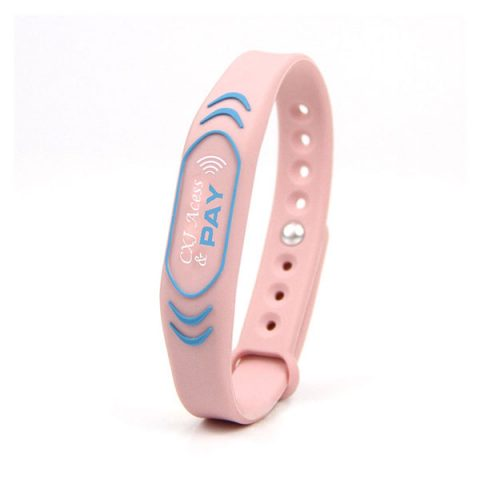Silicone RFID RFID NFC Payment wristband CXJ-RSW052