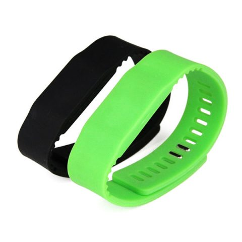RFID wearable silicone wristband CJ2308A06