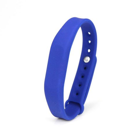 Wearable Silicone RFID Wristbands For Hotels