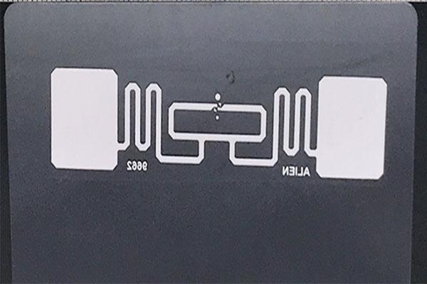 RFID UHF aluminum antenna card