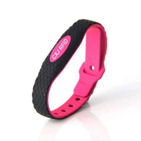 CJ2308A10 Silicone RFID Wristband Cost